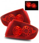 Mazda 3 Sedan 2004-2008 Red LED Tail Lights