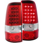 2004 GMC Sierra LED Tail Lights Red and Clear