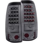 2004 GMC Sierra LED Tail Lights Smoked
