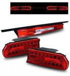 2012 Dodge Challenger Red LED Tail Lights