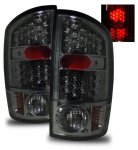 2005 Dodge Ram 3500 LED Tail Lights Smoked Lens