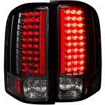2007 Chevy Silverado 2500HD LED Tail Lights Black