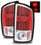 2005 Dodge Ram 2500 LED Tail Lights Red and Clear
