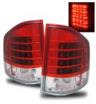 2001 GMC Sonoma Red and Clear LED Tail Lights