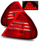 Mitsubishi Lancer 1999-2002 LED Tail Lights Red and Clear