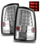 Dodge Ram 2009-2015 LED Tail Lights Chrome