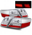 2008 Toyota Camry LED Tail Lights Clear