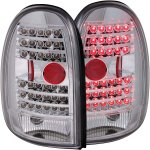 2002 Dodge Durango Chrome LED Tail Lights