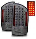 2008 Dodge Ram Smoked LED Tail Lights