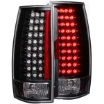 GMC Yukon Denali 2007-2013 Black LED Tail Lights