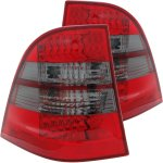 Mercedes Benz M Class 1998-2005 LED Tail Lights Red and Smoked