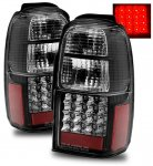 Toyota 4Runner 2001-2002 LED Tail Lights Black