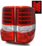 2004 Ford F150 LED Tail Lights Red and Clear