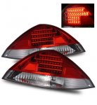 2005 Honda Accord Coupe LED Tail Lights Red and Clear