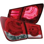 2012 Chevy Cruze Red LED Tail Lights