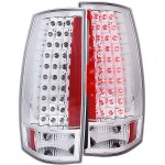 2011 Chevy Suburban Chrome LED Tail Lights
