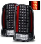 2006 Cadillac Escalade Black LED Tail Lights
