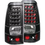 2004 GMC Sierra LED Tail Lights Black