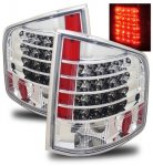 2002 Chevy S10 Chrome LED Tail Lights