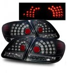 Lexus ES300 2002-2004 Black LED Tail Lights