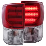 2011 Toyota Tundra LED Tail Lights Red and Clear