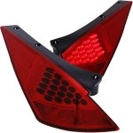 Nissan 350Z 2003-2005 LED Tail Lights Red and Clear