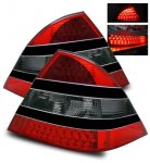 2005 Mercedes Benz S Class LED Tail Lights Smoked and Black Trim