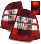 2004 Mercedes Benz M Class LED Tail Lights Red and Clear