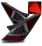 Nissan 350Z 2003-2005 LED Tail Lights Smoked