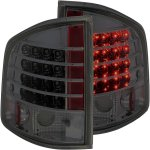 2001 GMC Sonoma Smoked LED Tail Lights
