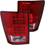 2005 Jeep Grand Cherokee LED Tail Lights Red and Clear
