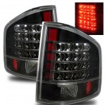 2000 Chevy S10 Black LED Tail Lights
