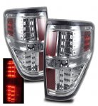 2010 Ford F150 Chrome LED Tail Lights