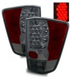 2004 Nissan Titan LED Tail Lights Smoked