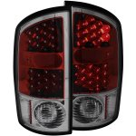 2002 Dodge Ram LED Tail Lights Red and Smoked