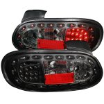 Mazda Miata 1998-2005 Black LED Tail Lights