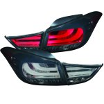 2012 Hyundai Elantra LED Tail Lights Smoked