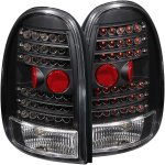 2000 Plymouth Voyager Black LED Tail Lights