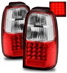 Toyota 4Runner 2001-2002 LED Tail Lights Red and Clear