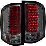 2007 Chevy Silverado 2500HD LED Tail Lights Smoked