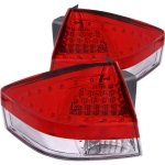 Ford Focus 2008-2011 Red and Clear LED Tail Lights