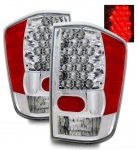 2004 Nissan Titan LED Tail Lights Chrome