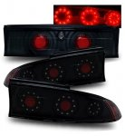 Mitsubishi Eclipse 1995-1999 Black LED Tail Lights