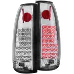 1997 GMC Yukon Chrome LED Tail Lights