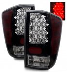 2004 Nissan Titan LED Tail Lights Black