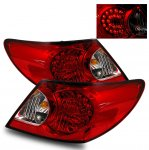 Chrysler Sebring Sedan 2007-2008 LED Tail Lights