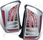 2011 Toyota Prius Chrome LED Tail Lights