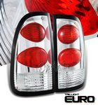 2004 Toyota Tundra Clear Altezza Tail Lights
