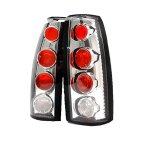 GMC Yukon Denali 1999-2000 Clear Altezza Tail Lights