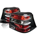 VW Golf 1999-2004 Black Altezza Tail Lights